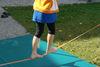 BILD: Kurs Klettern - Training auf der Slackline