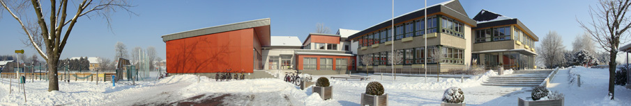 Banner Schule Winter