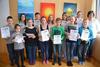 BILD: Erfolgreiche Teilnehmer am Känguru der Mathematik
