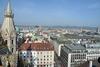 BILD: Blick vom Nordturm des Stephansdoms