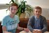BILD: Mathematik-Olympiade: Jonas Wagner und Felix Hirtenlehner