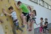 BILD: An der Boulderwand