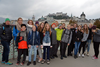 BILD: Wandertag 4. Klassen, Salzburg, 4b, Makartsteg