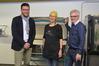 """BILD: Dank an Firma Lisec, Kurs zu """"Glasfusing"""", März 2019"""