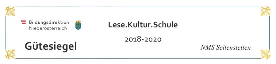 """Bildlink zu """"LeseKulturSchule"""""""